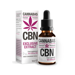 Cannabas - Huile CBN - Huile CBN - 10ml - 500mg CBN