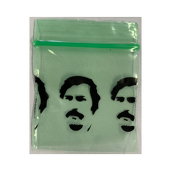 Ziplock bags mini 35 mm x 35 mm PPrint (1000 pieces) - Green