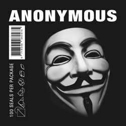 Anonymous Large Printed (100 pièces) - devant