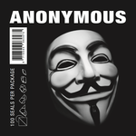 Anonymous Small Printed (100 pieces) - front