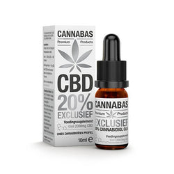 Cannabas - CBD Oil - CBD Olie Exclusive met 20% CBD - 10ml - 2000mg CBD