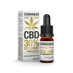 Cannabas - CBD Oil - CBD Oil Exclusive с 30% КБР - 10 мл - 3000 мг КБР