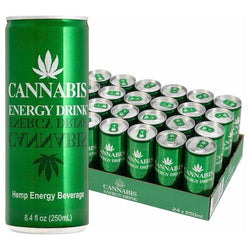 Cannabis Energy Drink (24x 250ml, 5 flavors)