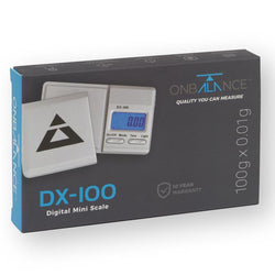 On Balance DX 100 SERIE (100 Gramm x 0,01 Gramm) Mini-Waage