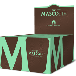 Mascotte Brown King Size (with Magnet) - 50 stuks