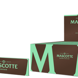 Mascotte Brown (Slim Size with magnet)- 50 stuks