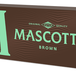 Mascot Brown Tips - 35 pcs