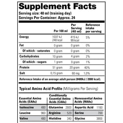 NVE Stacker - Liquid Amino (946 ml) - supplement facts