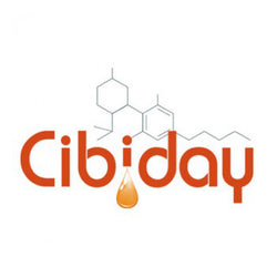 Cibiday - CBD Oil Drops - logo - for a carefree day!