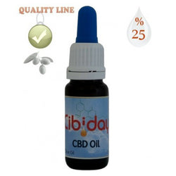 Cibiday - CBD Oil Drops - Quality Line - Highest Concentration - 25% CBD oil - 10ml