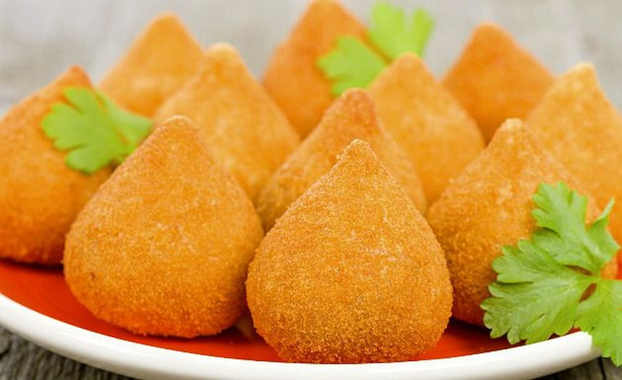 "SNACK - THE FAMOUS ""COXINHA"" BAG - 25 UNITS"