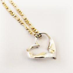 Floating Heart Necklace - Charmworks
