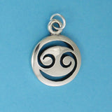 Sterling Silver Cancer Charm - Charmworks