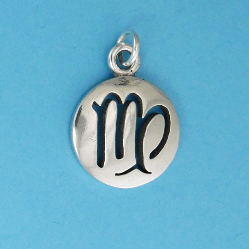 Sterling Silver Virgo Charm - Charmworks