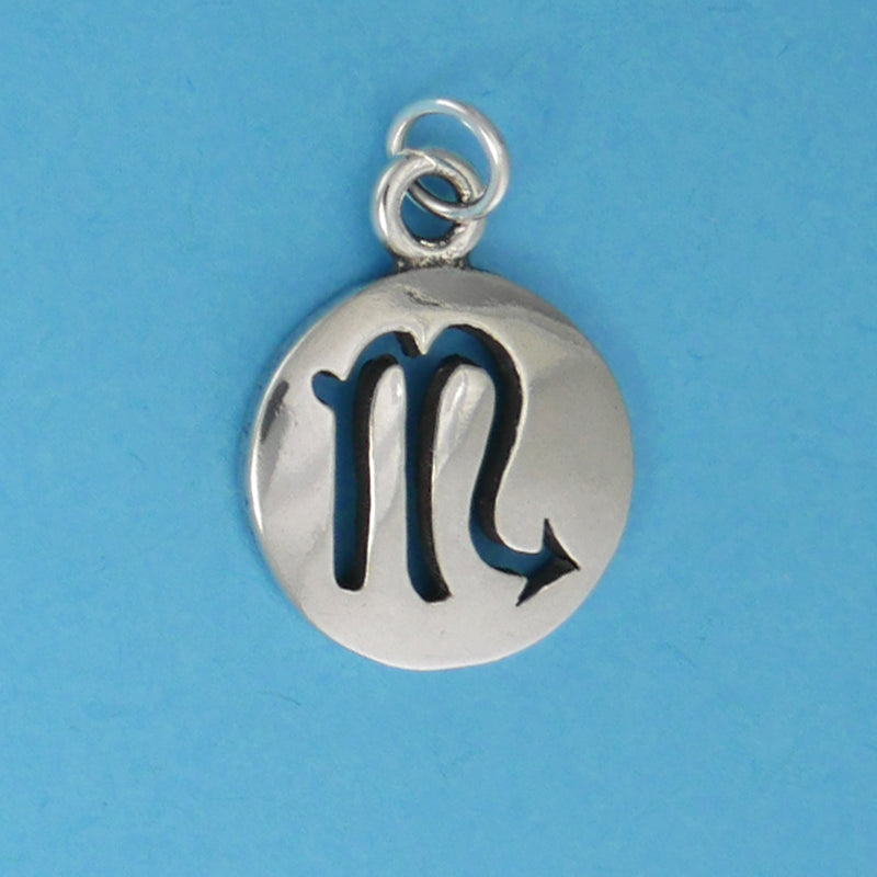 Sterling Silver Scorpio Charm - Charmworks