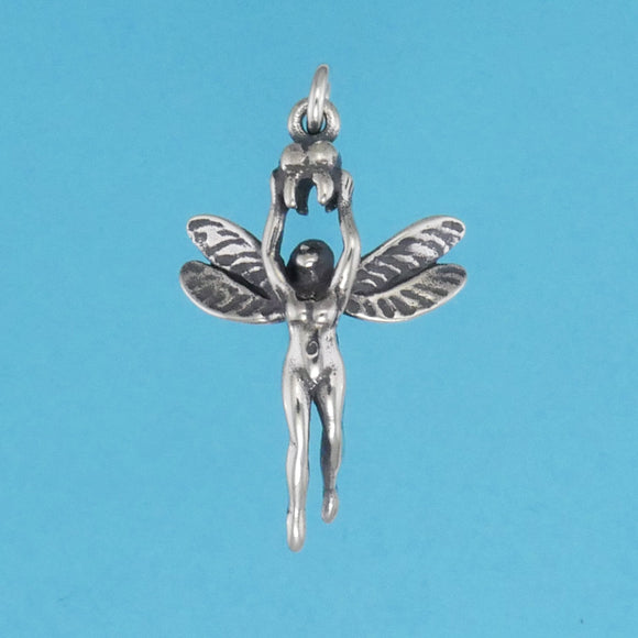 Sterling Silver Tooth Fairy Charm - Charmworks