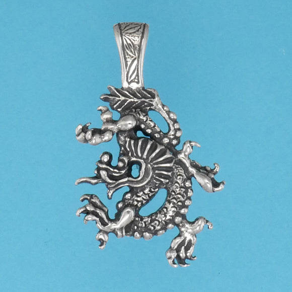 Chinese Dragon Pendant - Charmworks