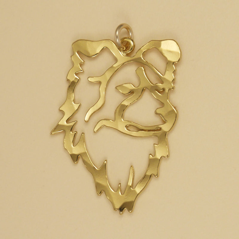 Border Collie Head Charm - Charmworks