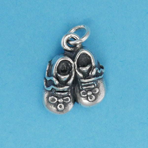 Baby Shoes Charm - Charmworks