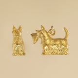US made gold vermeil Scottish Terrier charm.