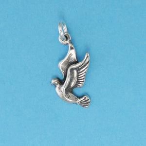 Landing Dove Charm - Charmworks