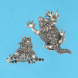 Horned Toad Pendant - Charmworks