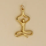 Yoga Sitting Tree Pose Charm