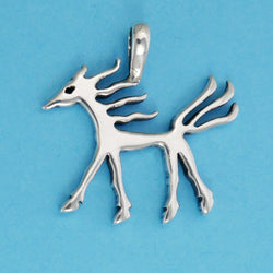 Ancient Horse Image Pendant - Charmworks