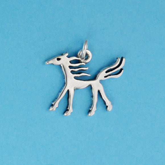 Ancient Horse Image Charm - Charmworks