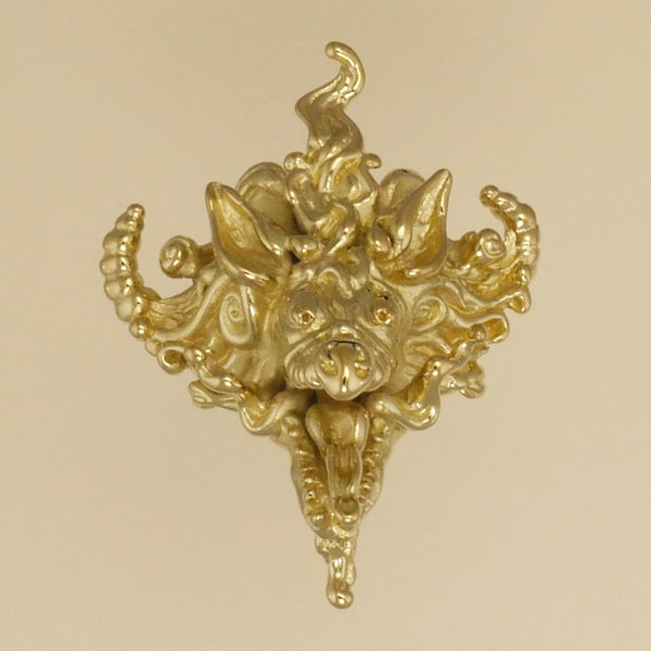 Chinese Dragon Head Pendant - Charmworks