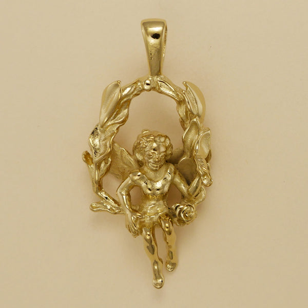 Fairy On Swing Pendant - Charmworks