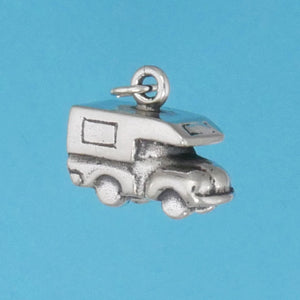 Sterling Silver Truck Bed Camper Charm - Charmworks