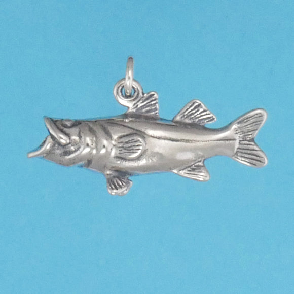 Sterling Silver Snook Charm - Charmworks