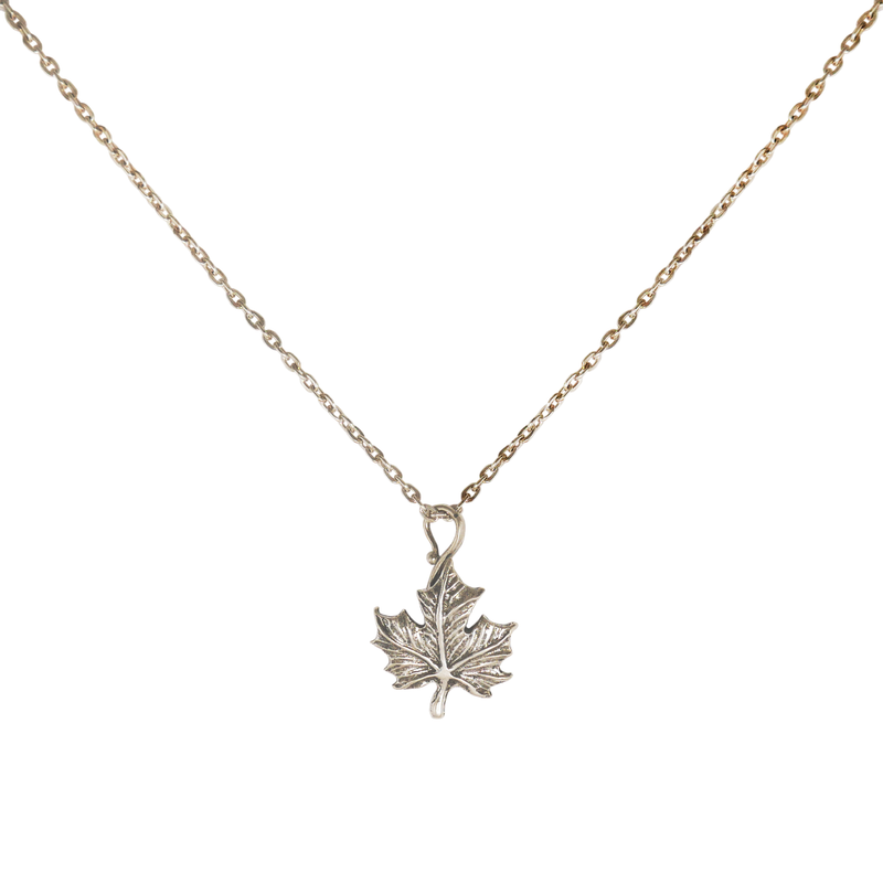 Maple Leaf Necklace - Charmworks