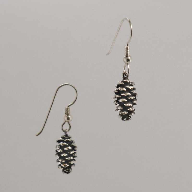 Pine Cone Earrings - Charmworks