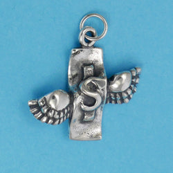 Sterling Silver Money Flies Charm - Charmworks