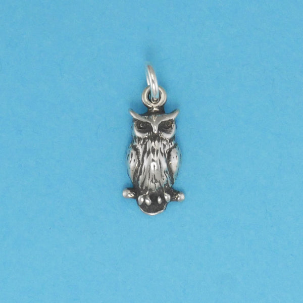 Great Horned Owl Charm - Charmworks