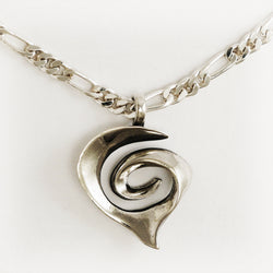 Spiral Heart Necklace - Charmworks