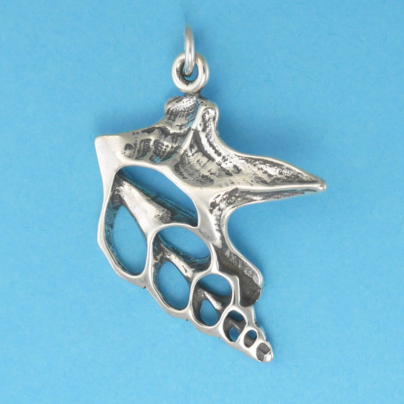 Pelican Foot Shell Pendant - Charmworks