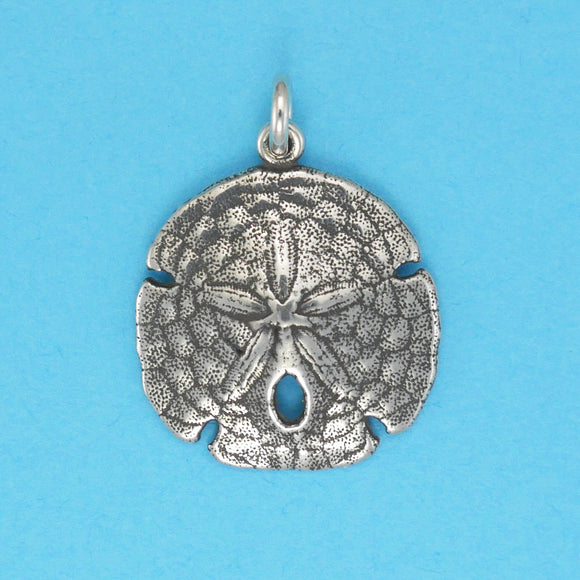 Sterling Silver Sand Dollar Charm - Charmworks
