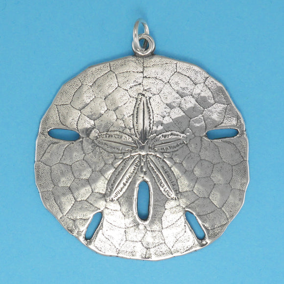 Sterling Silver Sand Dollar Pendant - Charmworks
