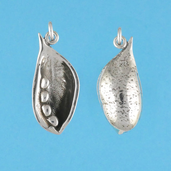 Sterling Silver Seed Pod Pendant - Charmworks