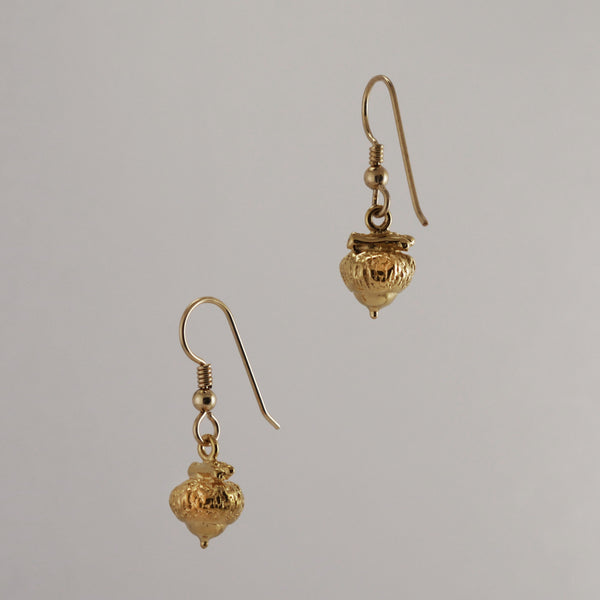 Acorn Earrings - Charmworks