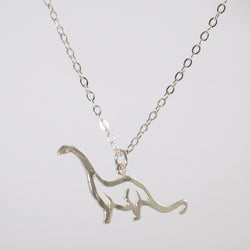 Brontosaurus Necklace - Charmworks