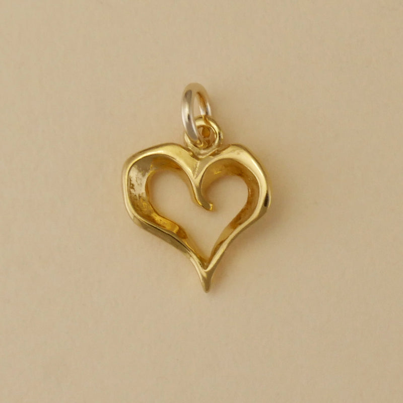 Open Heart Charm - Charmworks