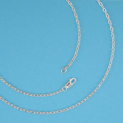 Medium Drawn Flat Cable Chain - Charmworks