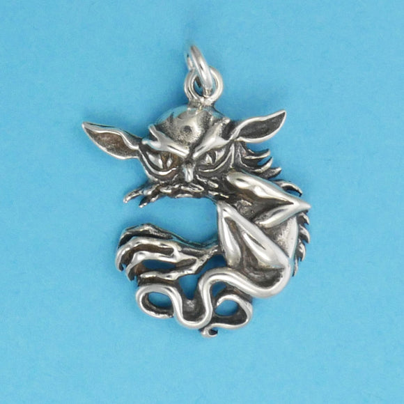 Sterling Silver Scrattle Charm - Charmworks
