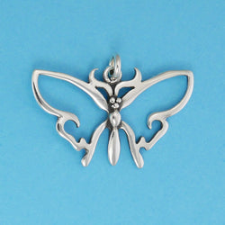 Simple Butterfly Pendant - Charmworks