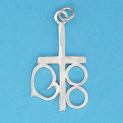 Marriage Cross Pendant - Charmworks