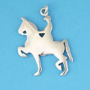 Gaited Horse Pendant - Charmworks